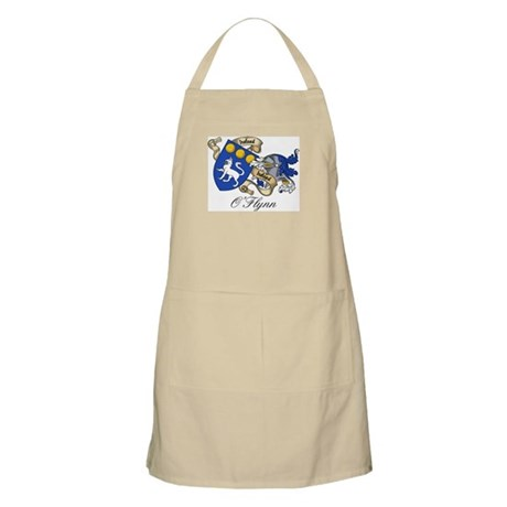 O'Flynn Family Coat of Arms BBQ Apron