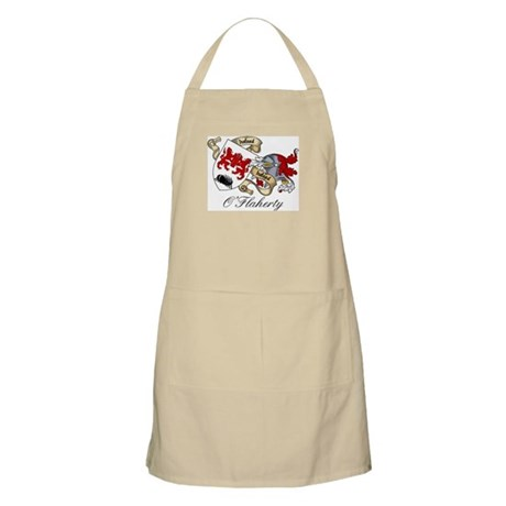 O'Flaherty Family Coat of Arms BBQ Apron