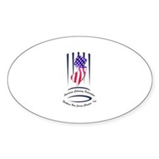 Oval Bumper Stickers