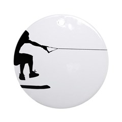 WakeSkate Ornament (Round)