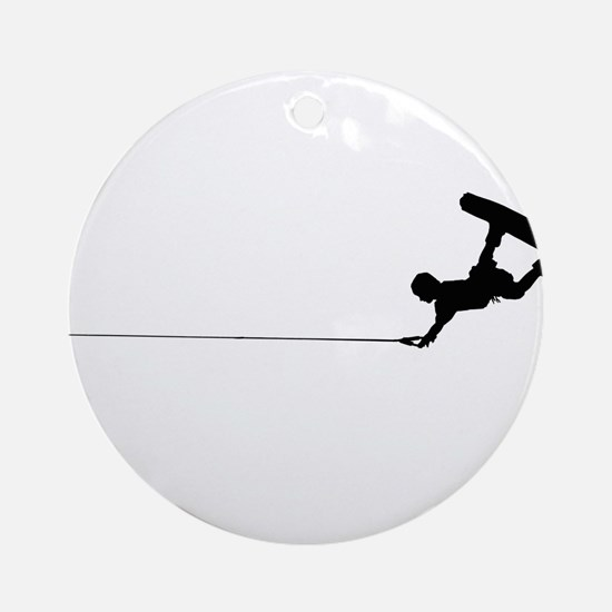 Wakeboard Railey Ornament (Round)