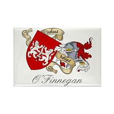 O'Finnegan Family Crest Rectangle Magnet (100 pack