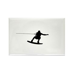 Wakeboard Big Air Rectangle Magnet (100 pack)