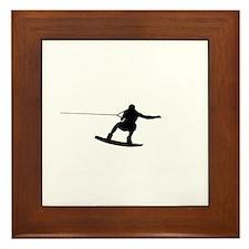 Wakeboard Big Air Framed Tile