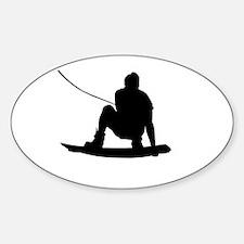 Wakeboard Air Method Grab Sticker (Oval)