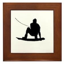 Wakeboard Air Method Grab Framed Tile