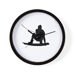 Wakeboard Air Method Grab Wall Clock