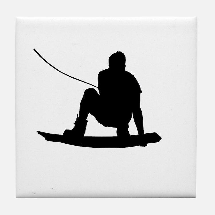 Wakeboard Air Method Grab Tile Coaster