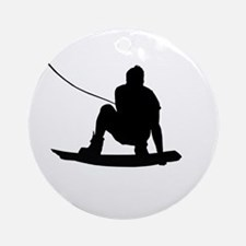 Wakeboard Air Method Grab Ornament (Round)
