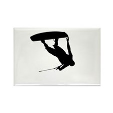 Wakeboard Invert Tail Grab Rectangle Magnet