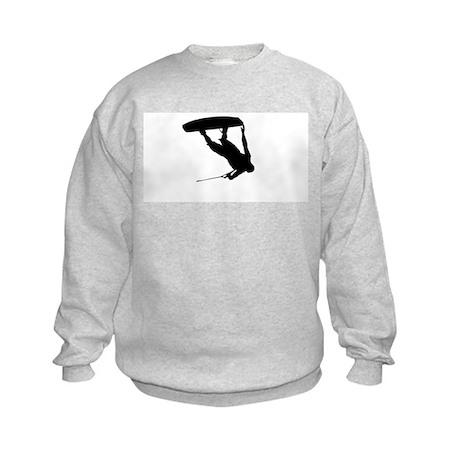 Wakeboard Invert Tail Grab Kids Sweatshirt