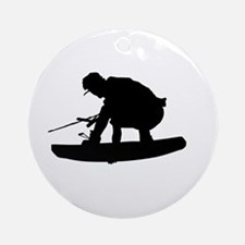 Wakeboard Air Stalefish Ornament (Round)