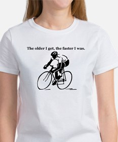 The older I get...Cycling Tee