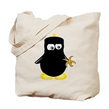 Ninja Penguin Tote Bag