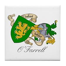 O'Farrell Family Coat of Arms Tile Coaster