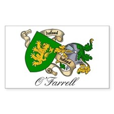 O'Farrell Family Coat of Arms Sticker (Rectangular