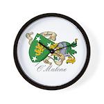O'Malone Family Sept Wall Clock