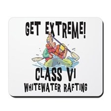 Whitewater Rafting Mousepad