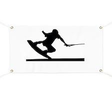 Unique Wakeboarding Banner