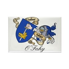 O'Fahy Family Coat of Arms Rectangle Magnet