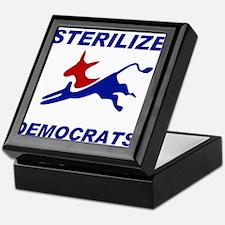 EXTINGUISH DEMOCRATS Keepsake Box