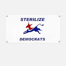 EXTINGUISH DEMOCRATS Banner