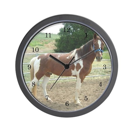 Wall Clock Spotted Saddle Horse