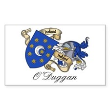 O'Duggan Family Crest Rectangle Decal