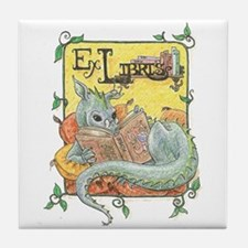 Dragon Reader Tile Coaster