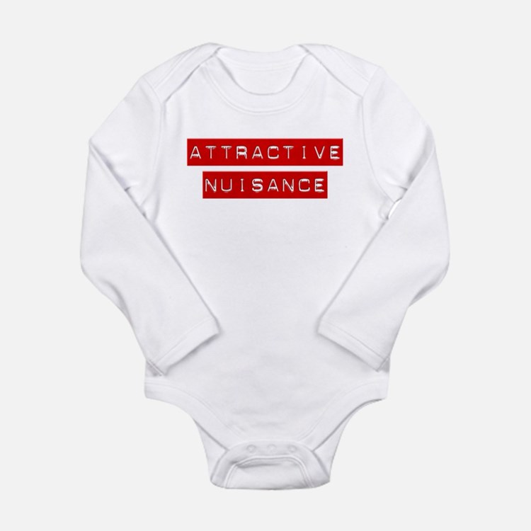 Cute Attractive Long Sleeve Infant Bodysuit