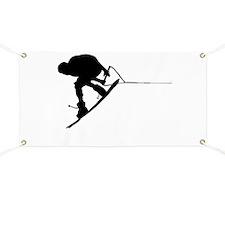 Cute Wakeboarding Banner