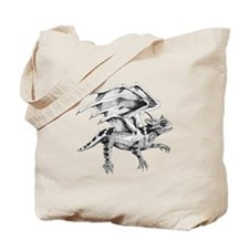 Flying Horny Toad Tote Bag