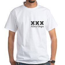 Alley Oops Logo 12 Shirt Design Front Pock