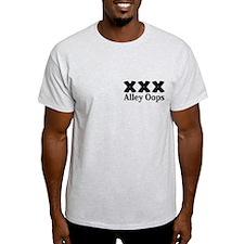 Alley Oops Logo 12 T-Shirt Design Front Pock