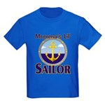 Momma's Lil' Sailor Kids Dark T-Shirt