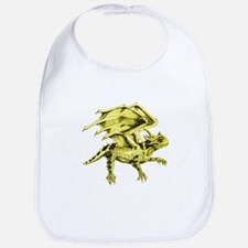 Flying Horny Toad Bib
