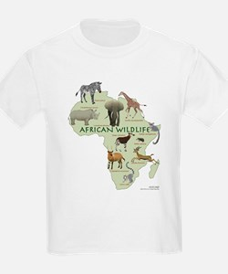 african wildlife Kids T-Shirt