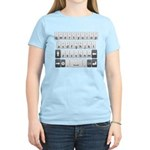 Qwerty Keyboard Women's Light T-Shirt