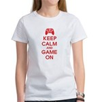 Keep Calm And Game On Women's T-Shirt
