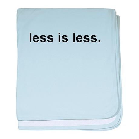 Less is Less Infant Blanket