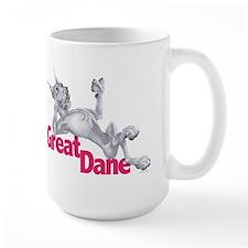 Great Dane Blue LB Mug