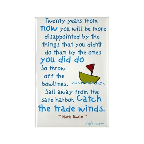 Trade Winds Rectangle Magnet (100 pack)