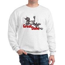 Great Dane Black LB Sweater