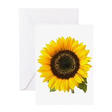 Sunflower Greeting Card