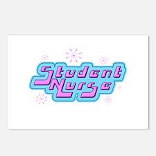 Retro Student Nurse Postcards (Package of 8)