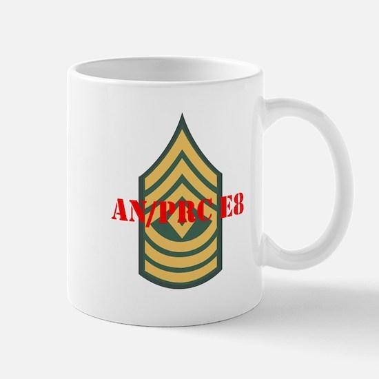 First Sergeant Mug