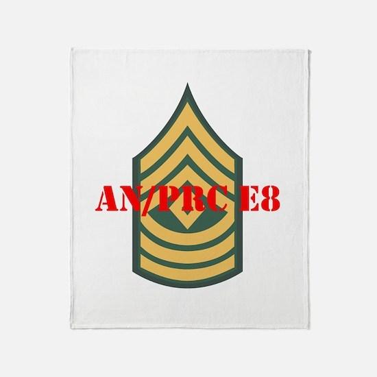 First Sergeant Throw Blanket