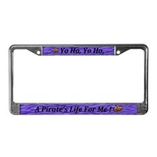 Cute Scurvy License Plate Frame