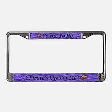 Cute Yo ho ho License Plate Frame