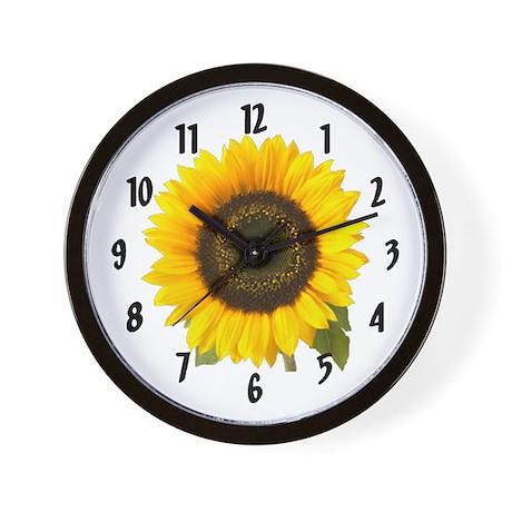 Sunflower Wall Clock by DODGERFL